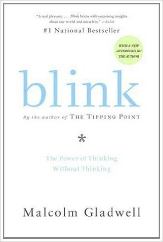 Blink by Malcom Gladwell - best entrepreneurship books
