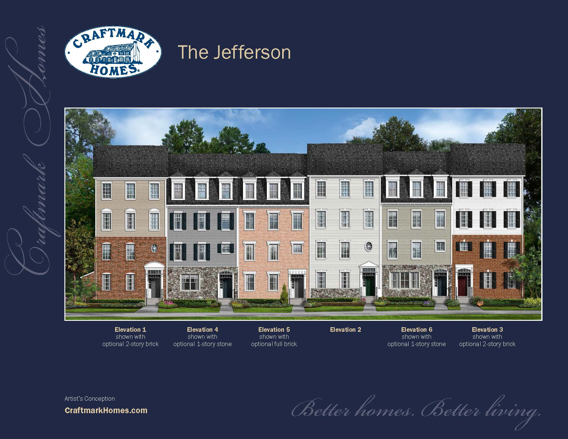 Condominium for Sale at The Enclave At Stoney Run-The Jefferson Ridge Road & Stoney Run Drive Hanover, Maryland 21076 United States