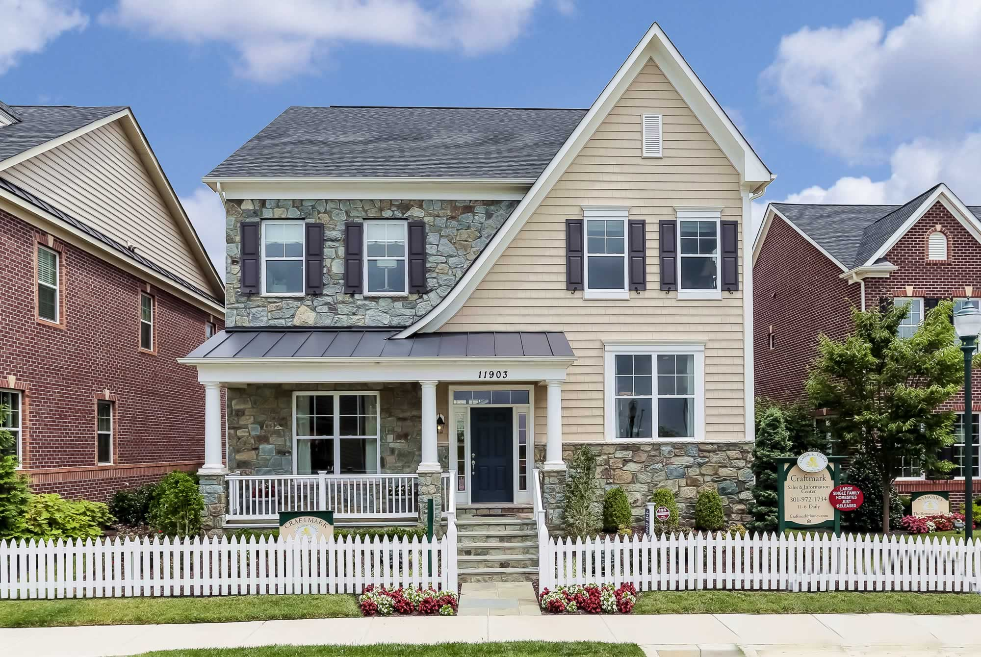 Single Family for Sale at Layhill Overlook (Singles)-The New Windsor 14412 Clay Rock Lane Silver Spring, Maryland 20906 United States