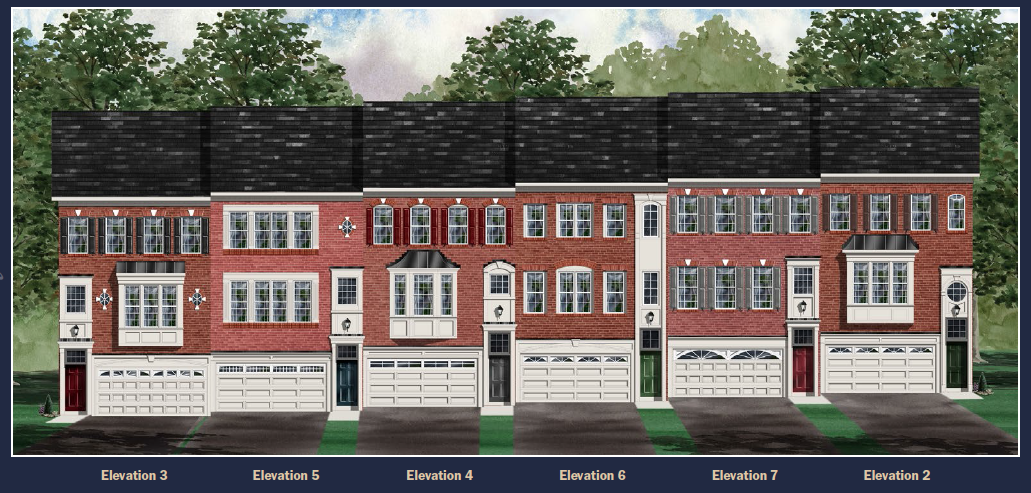 Single Family for Sale at The Pointe At Arundel Preserve-The Arlington Crystal Brook Way & Silver Run Road Hanover, Maryland 21076 United States