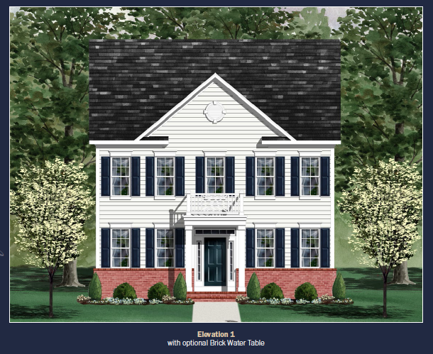 Single Family for Sale at Clarksburg Village (Singles)-The Middletown 11903 Country Squire Way Clarksburg, Maryland 20871 United States