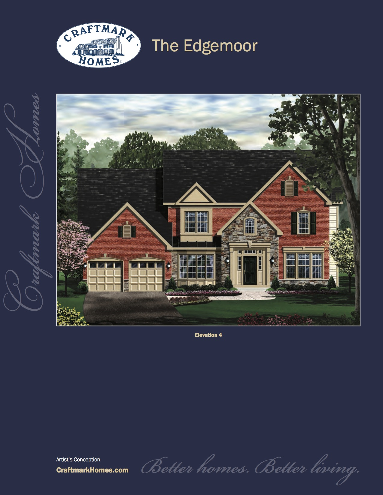 Single Family for Sale at Harmony Vista-The Edgemoor 17348 Harmony Vista Drive Hamilton, Virginia 20158 United States