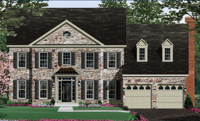 Additional photo for property listing at Stone Fox Estates-The Chevy Chase 20376 Stone Fox Court Leesburg, Virginia 20175 United States