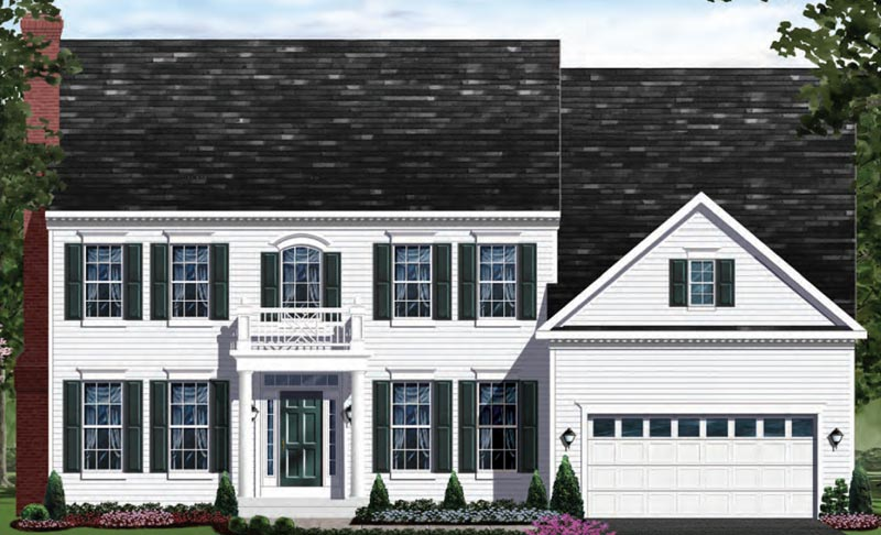 Single Family for Sale at The Preserve At Woodmore-The Clifton Alt. 2700 Margary Timbers Ct. Bowie, Maryland 20721 United States