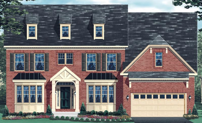 Additional photo for property listing at The Preserve At Woodmore-The Clifton Alt. 2700 Margary Timbers Ct. Bowie, Maryland 20721 United States