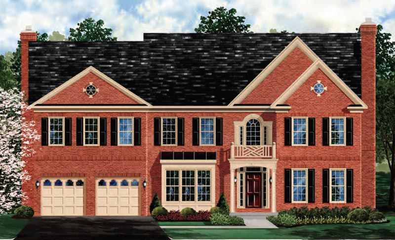 Single Family for Sale at Harmony Vista-The Oakton 17348 Harmony Vista Drive Hamilton, 20158 United States