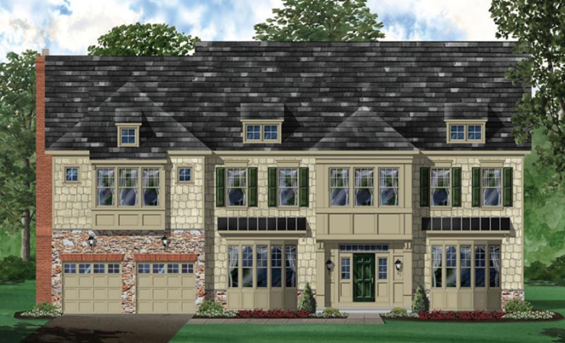 Additional photo for property listing at Harmony Vista-The Oakmont 20376 Stone Fox Court Leesburg, Virginia 20175 United States