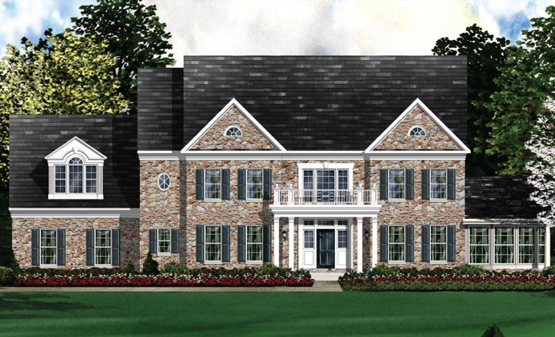 Single Family for Sale at The Reserve At Black Rock-The Kenwood Selling From Clarksburg Village: 11903 Country Squire W Clarksburg, Maryland 20871 United States