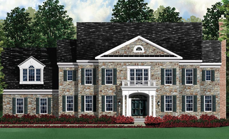 Single Family for Sale at The Reserve At Black Rock-The Kenwood Ii Selling From Clarksburg Village: 11903 Country Squire W Clarksburg, Maryland 20871 United States