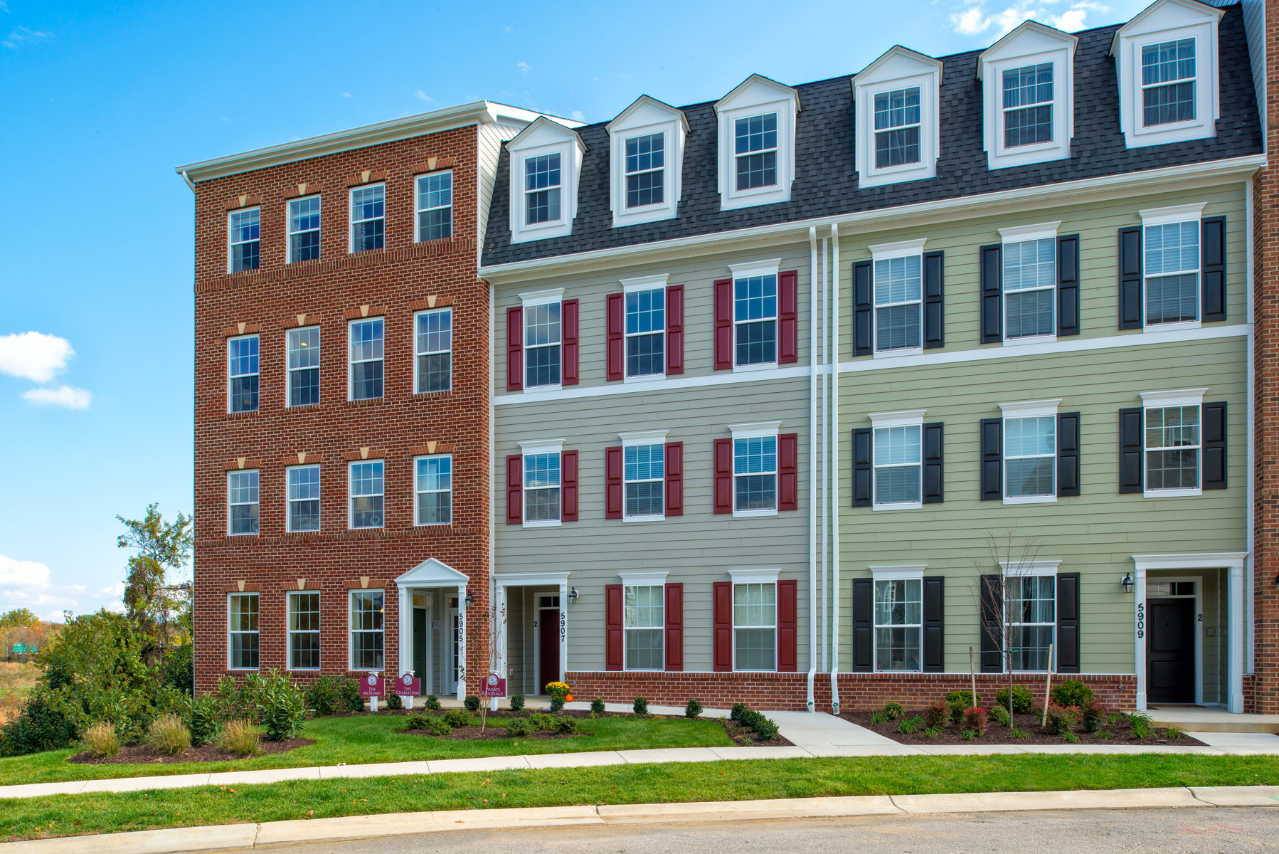 Single Family for Sale at Shipley's Grant-The Mchenry 5780 Richards Valley Road Ellicott City, Maryland 21043 United States