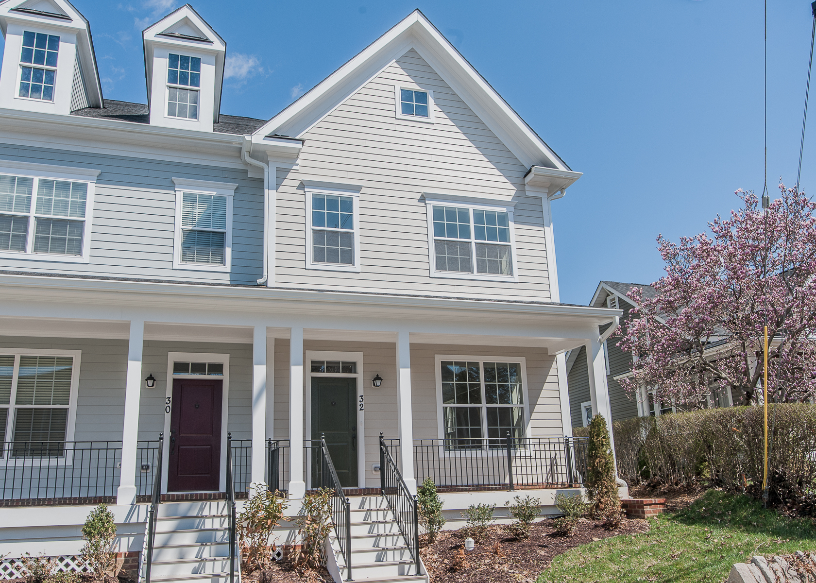 Single Family for Sale at Towson Green-York Duplex 200 Meridian Lane Towson, Maryland 21286 United States