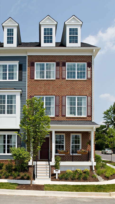 Single Family for Sale at Towson Green-The Chesapeake 200 Meridian Lane Towson, Maryland 21286 United States