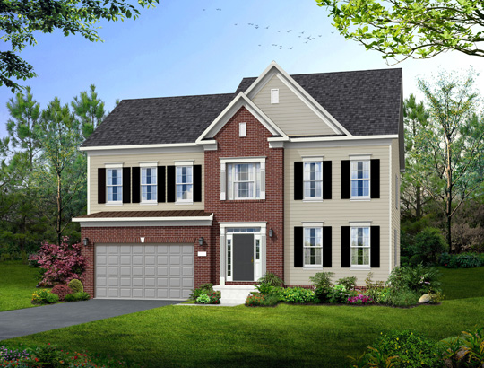 Single Family for Sale at Poplar Run-The Bradley 13204 Moonlight Trail Dr. Silver Spring, Maryland 20906 United States