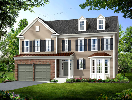 Single Family for Sale at Poplar Run-The Abbey 13204 Moonlight Trail Dr. Silver Spring, Maryland 20906 United States