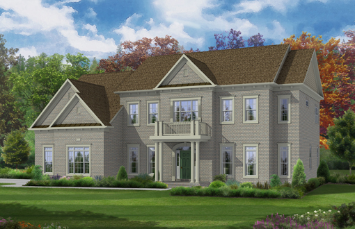 Additional photo for property listing at The Reserve At Waples Mill-The Langley Ii At Waples Mill 11620 Verna Drive Oakton, Virginia 22124 United States