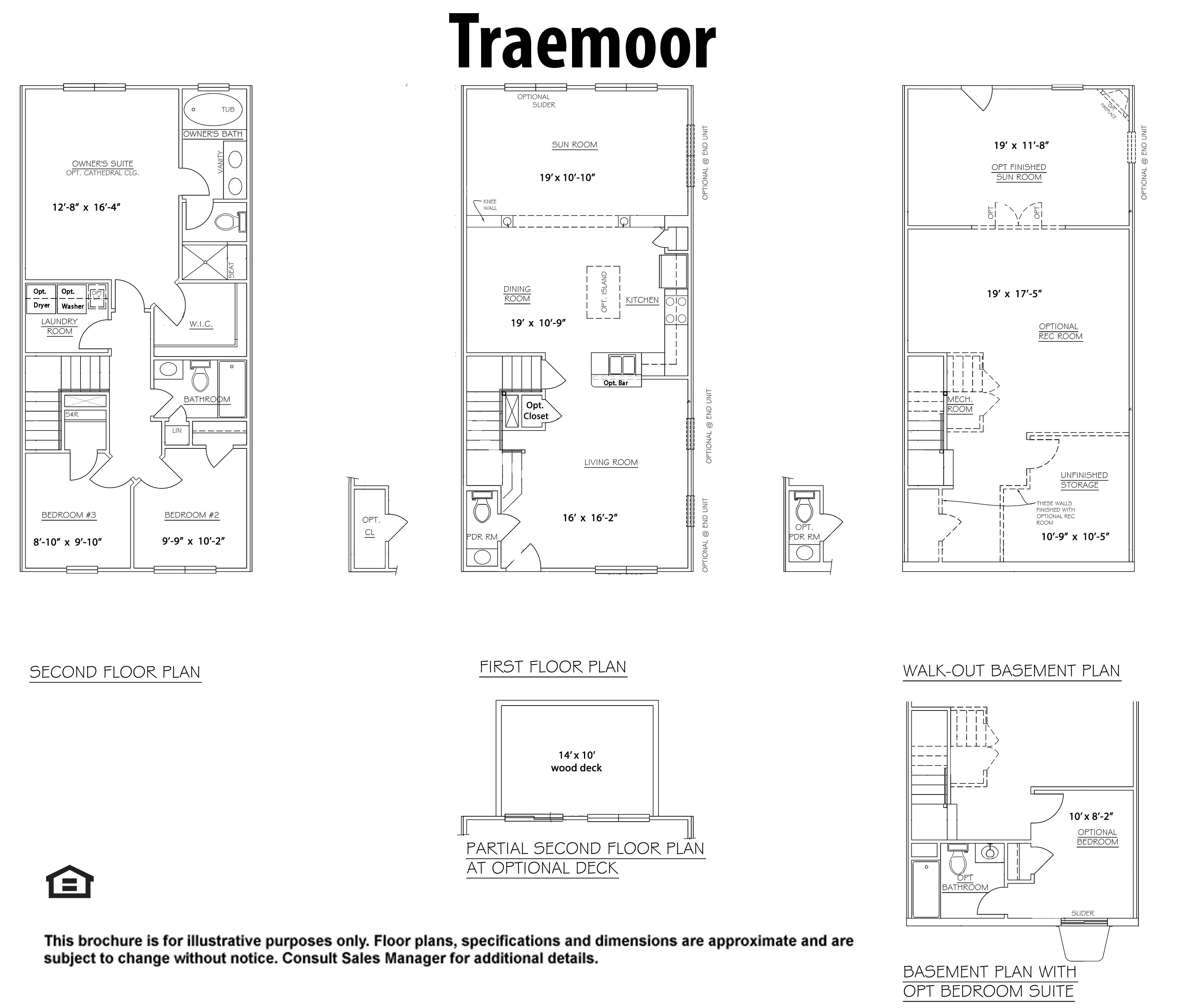 Single Family for Sale at Townhomes At Lakeside-The Traemoor 4738 Wensel Road Fredericksburg, Virginia 22408 United States