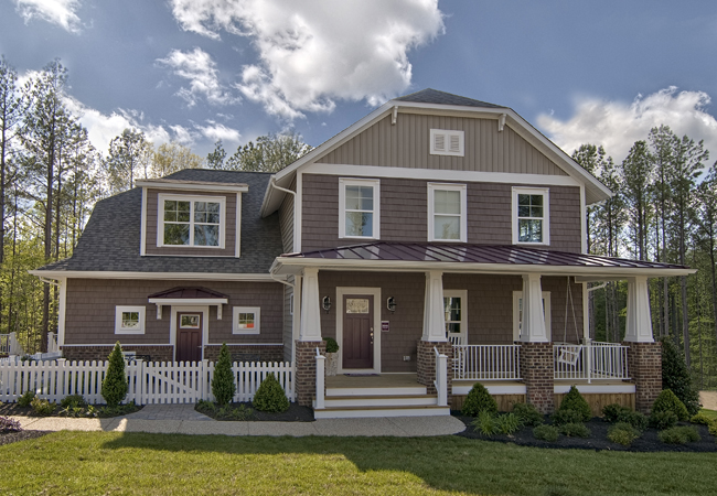 Single Family for Sale at Brickshire-Rosewater 11000 Kentland Trail Providence Forge, Virginia 23140 United States