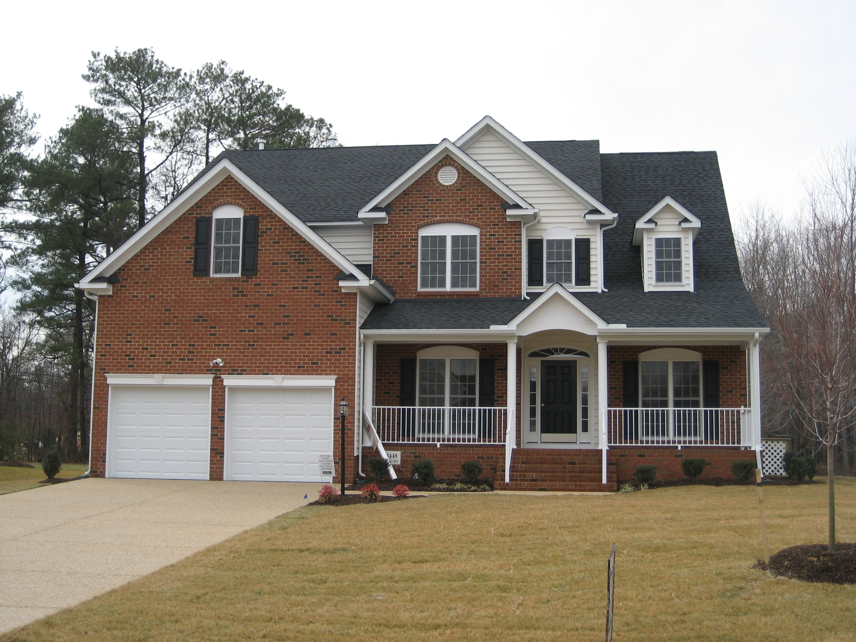 Single Family for Sale at Brickshire-Wadsworth 11000 Kentland Trail Providence Forge, Virginia 23140 United States
