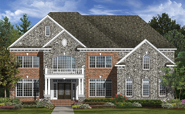 Single Family for Sale at Fairview Manor-The Monarch 14108 Dawn Whistle Way Bowie, Maryland 20721 United States