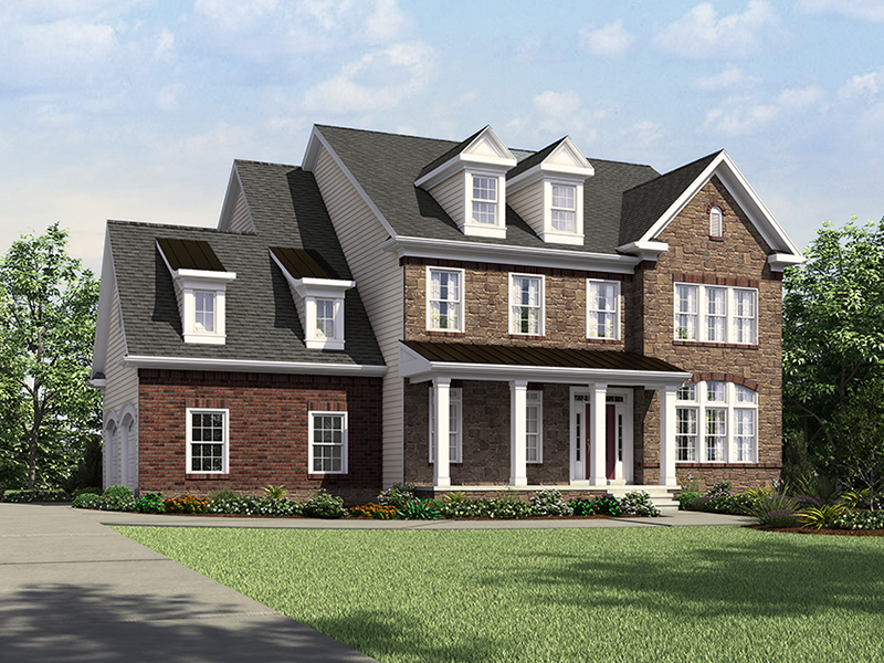 Single Family for Sale at The Reserve At Brightwell Crossing-The Montgomery 17919 Elgin Road Poolesville, 20837 United States