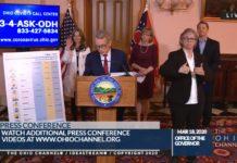 El Gobernador de Ohio Mike DeWine