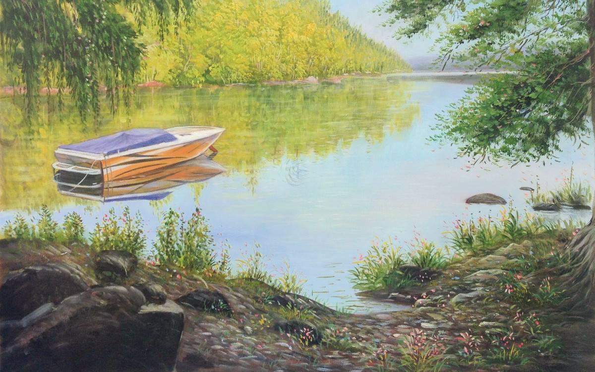 Gemälde in Ölfarben