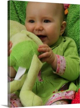 Baby Fotoleinwand