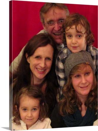 Fotoleinwand vom Familienfoto