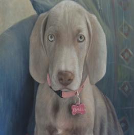 la peinture de chien