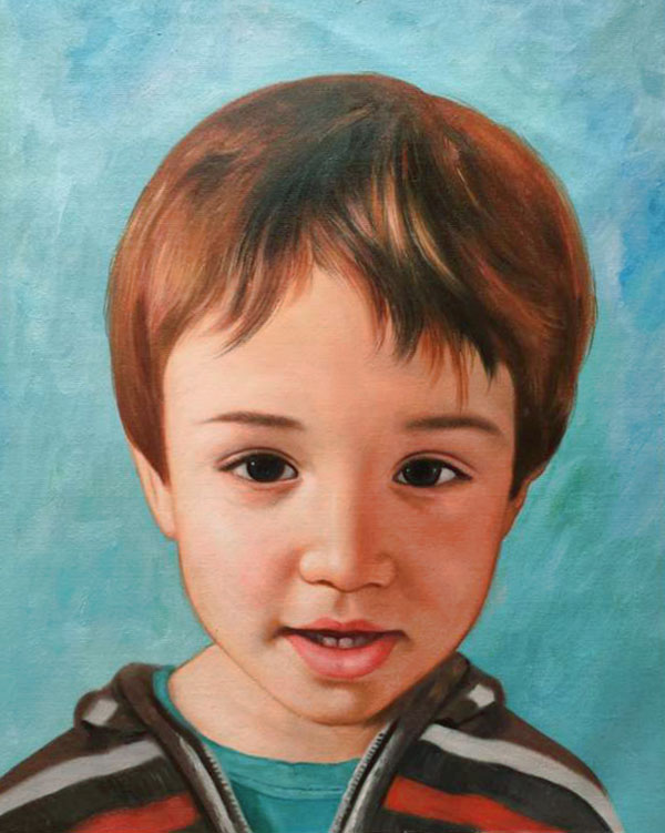 Enfants en portrait