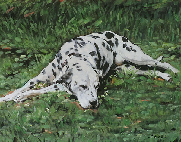 custom dog art pastel