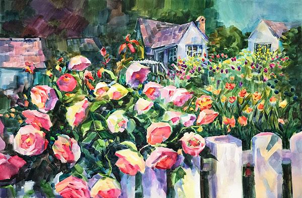 peinture tableaux paysage