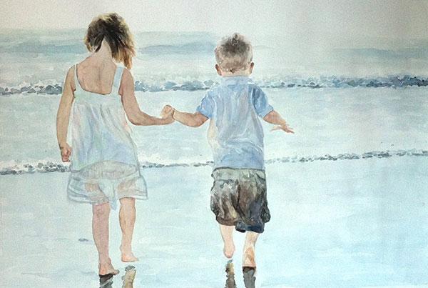 Peinture de frères