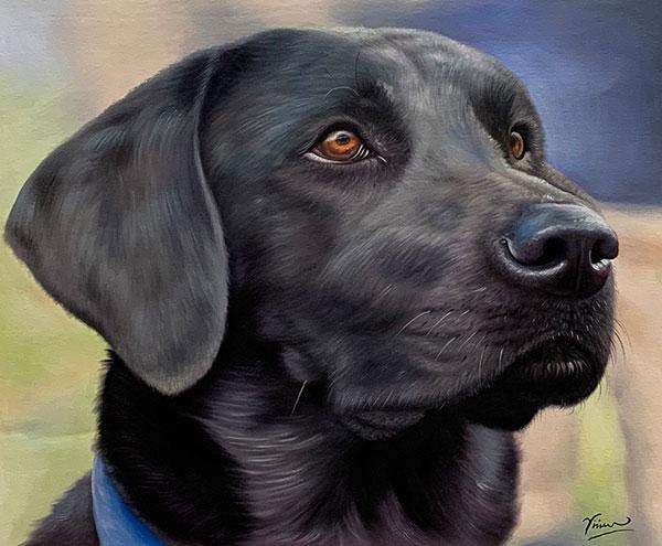tableau de chien