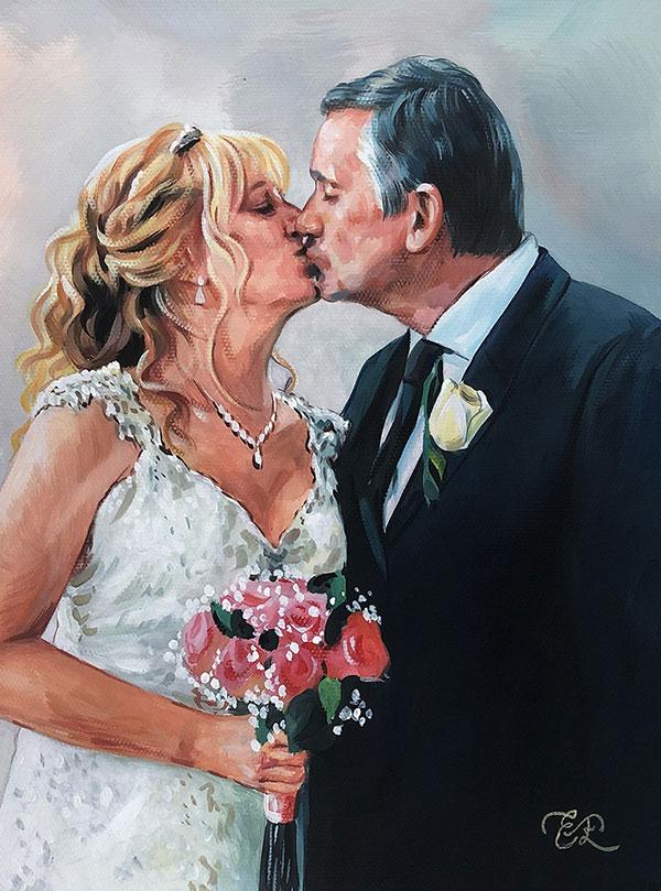 Peinture de couple