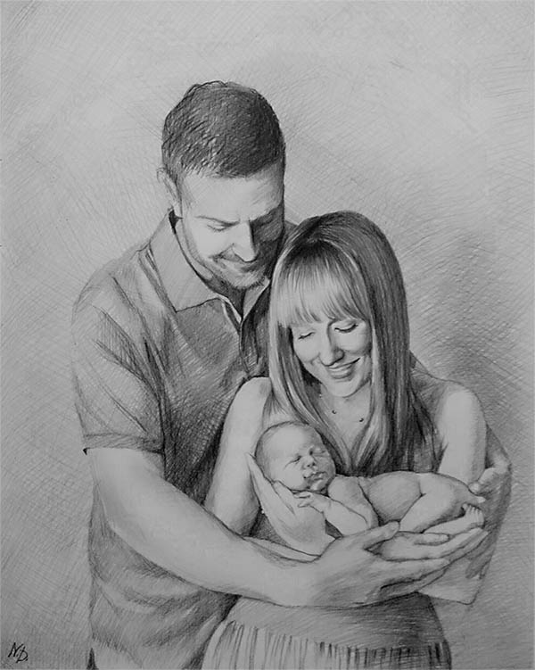 hand drawn pictures from photos