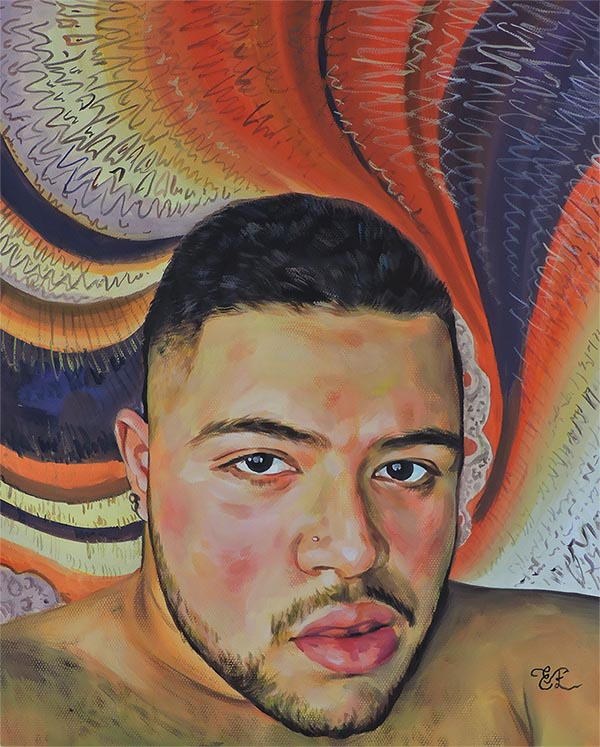 Peinture homme