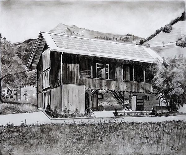 house drawing custom