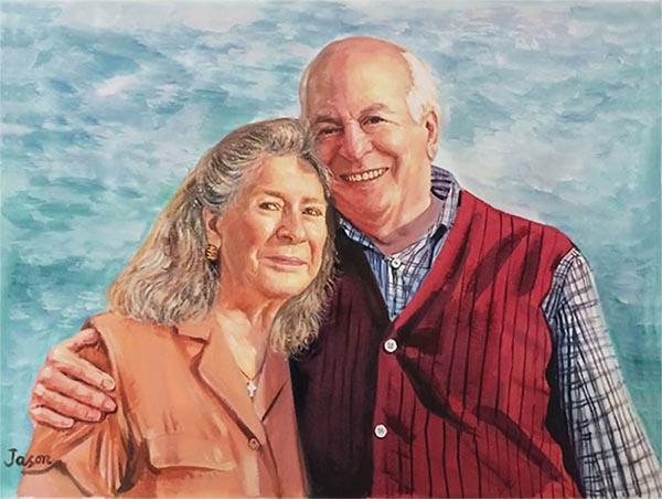 portrait painters for hire