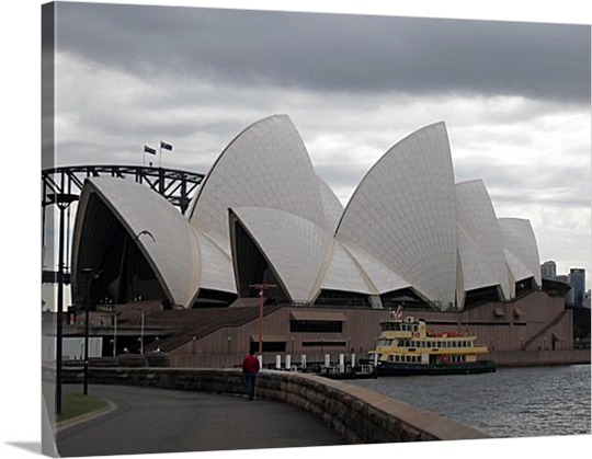 Opera House Photo on Canvas