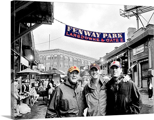 Friends at Fenway on Pop Art from Print