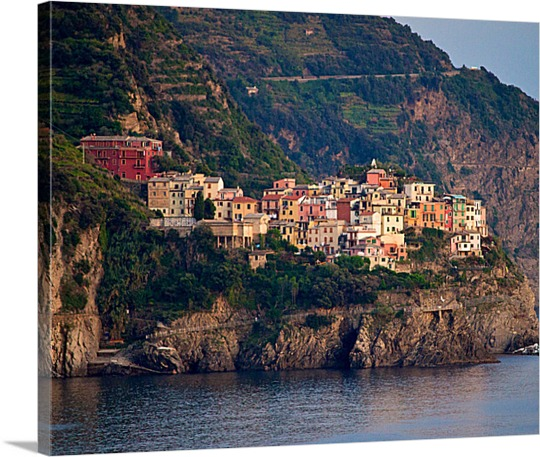 Cliff City on Canvas from Photo