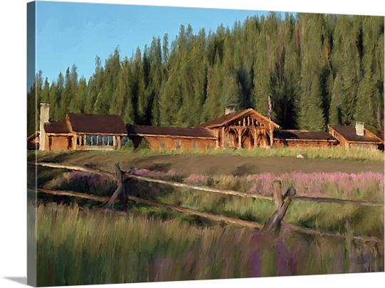 Mountain Ranch on Pop Art