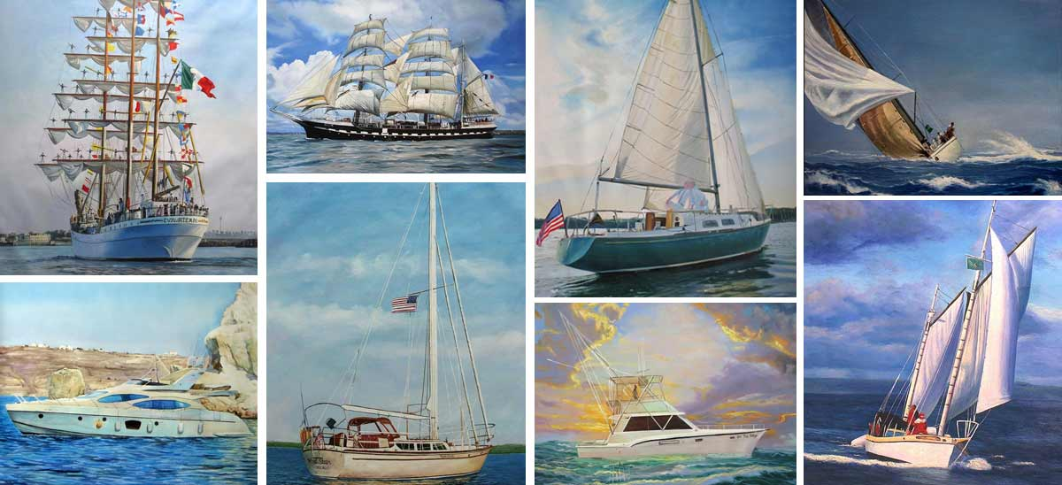 Boats Portraits