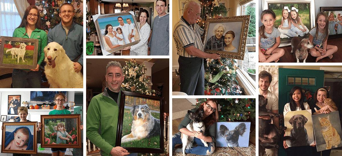 Portraits pour Noël