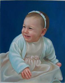 de foto a pintura online, arte personalizado de niños
