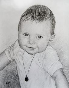 Bébé en portrait