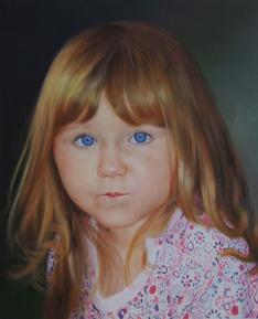 artiste peintre fille