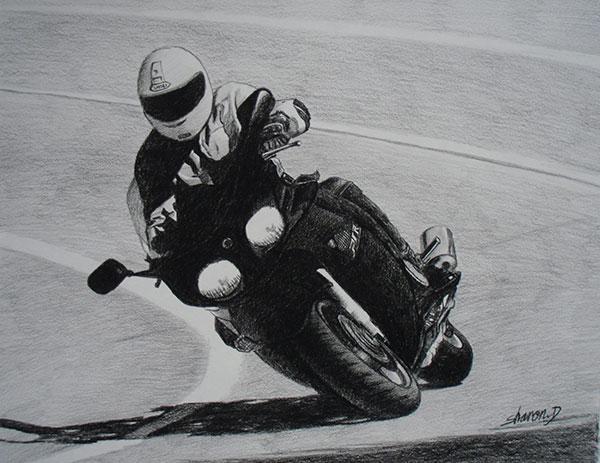 custom motorcycle art