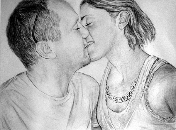couple drawing